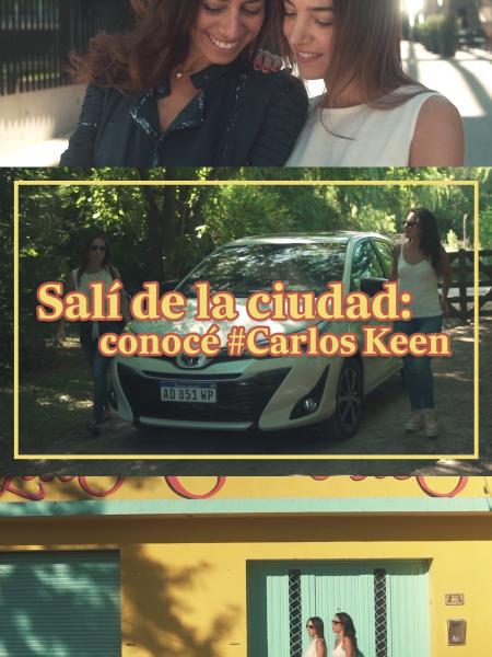 Salí de la ciudad: conocé #Carlos Keen (Toyota Mobility)